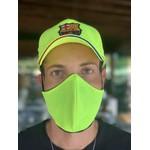 Máscara Tecido Lavável Amarelo Fluor Cor 4.2