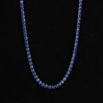 Colar Masculino Riviera Azul Marinho 2mm
