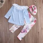 Conjunto Blusa e Calca florida