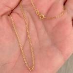 Corrente Cartier de Ouro 18K 60cm