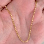 Corrente Portuguesa de Ouro 18K 45cm