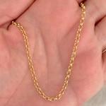 Corrente Portuguesa de 45cm em Ouro 18K