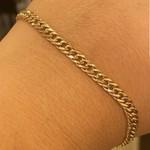 Pulseira Groumet Nill de Ouro 18K