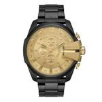 Relógio Diesel Masculino Black And Gold Cronógrafo