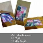 KITS DE CARTONAGEM CARTEIRA GLAMOUR