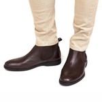 Bota Chelsea Masculina Hunter Chocolate