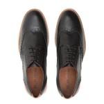 Sapato Brogue Masculino Casual Ezera Preto