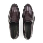 Sapato Loafer Masculino Vinho Monbran Dressy