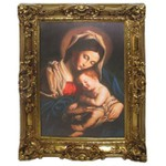 Quadro Clássico - Madonna Con Il Bambino By Giovanni Battista By Sassoferrato