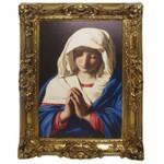 Quadro Clássico - The Virgin In Prayer By Giovanni Battista Salvi Da Sassoferrato