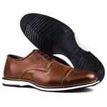 Brogue Premium Couro Comfort Castor Andora 8005