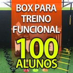 Box para Treino Funcional Para 100 Alunos/Mês