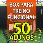 Box para Treino Funcional Para 50 Alunos/Mês