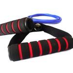 Elastico Extensor para Exercicios com Pegada - Medio Azul