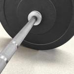 Kit 2 Barras Olímpicas LPO Masculina e Feminina + 100kg Anilhas Olímpicas