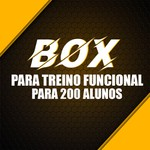 Box para Treino Funcional Para 200 Alunos/Mês