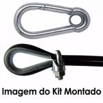 Kit Academia - 50m Cabo de Aço + Acessórios