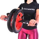 Roda Dupla para Exercícios Abdominal - Pernas e Braços