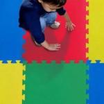 Kit 20 Tatames Tapete EVA Infantil 50x50x1cm Colorido