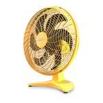 Ventilador de Mesa Domina 50cm Amarelo Bivolt