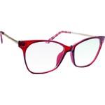 Armação Óculos de Grau Vermelho