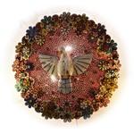 Divino Espírito Santo Luminária Rosa 1,10m.