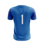 Camisa Goleiro Azul manga curta