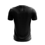 Camisa Casual Masculina Preta com listras