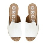 Espadrille Flat Mule Off White