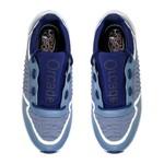 Tênis Recortes Orcade Azul Jeans/ Branco / Marinho