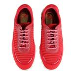 Tênis Casual De Amarrar Vermelho