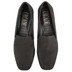 Loafer Mia Costura Grossa Preto Salto 2,5 cm