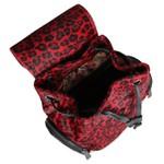 Mochila Bolsos Laterais Jaguar Vermelho