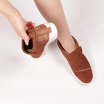 Slip On Luna Boots Caramelo