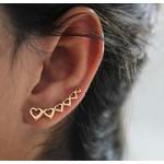Brinco Ear Cuff em Ouro 18k