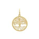 Pingente Árvore da Vida Ouro 18k