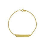 Pulseira Infantil Ouro 18k