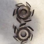 Fresa Para Portas Molduradas 125mm X 30mm 6 Asas Em Aço Fepam