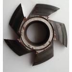 Fresa Para Molduras 100mm X 28mm 5 Asas Em Aço Fepam