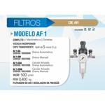 Filtro Modelo AF 1