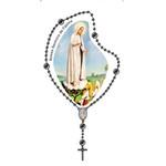Adesivo Terço Pequeno Nossa Senhora de Fátima