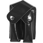 Porta Carregador (duplo) Em Couro Tipo Box, Padrão Militar