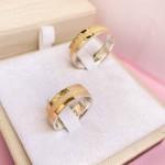 Aliança de Ouro 18k 6mm Casamento Modelo Roman