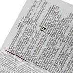 Bíblia Sagrada preta - Letra Grande