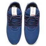 Tênis Masculino Runner Sport Polo Joy Em Elastano Azul Escuro