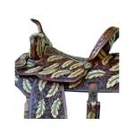 Sela de Couro Tambor - 05 Forma Protec Horse