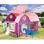 Brinquedo Celeiro Colorido - Horse Crazy Barn Stablemates Breyer