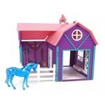 Celeiro Colorido - Horse Crazy Barn Stablemates Breyer