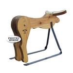 Cavalete para Treino Boots Horse - Boi de madeira - Pequeno
