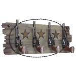 Cabideiro Classic 4 ganchos - pistolas